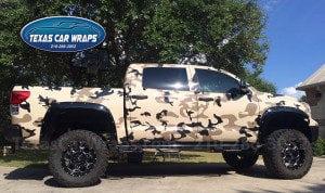 Texas Car Wraps San Antonio | Camo wrap San Antonio | Camouflage Wrap San Antonio