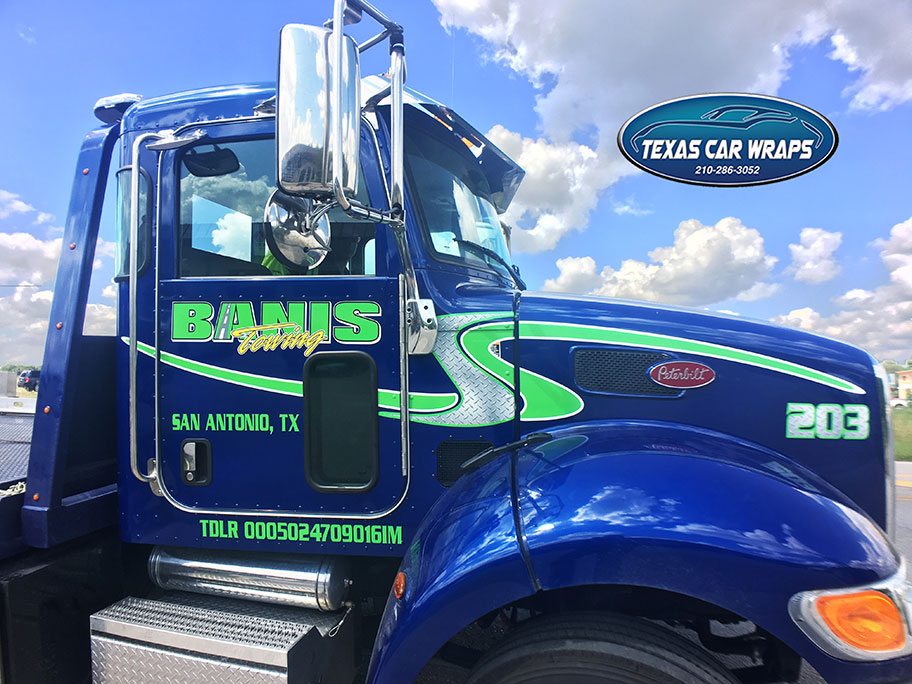 Commercial Graphics Corpus Christi | Fleet Graphics Corpus Christi | Truck Wrap Corpus Christi | Vehicle Wraps Corpus Christi | Tow Truck Graphics Corpus Christi