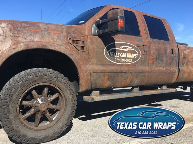 Texas Car Wraps | Truck Wrap San antonio | Rust Truck Wrap | Rust Truck Wrap San Antonio | Vehicle Wrap San Antonio | Car Wrap San Antonio | Trailer Wrap San Antonio