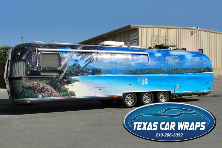Airstream Trailer Wrap, Texas Car Wraps