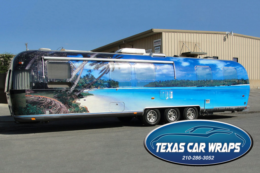 Airstream Trailer Wrap, San Antonio, Texas