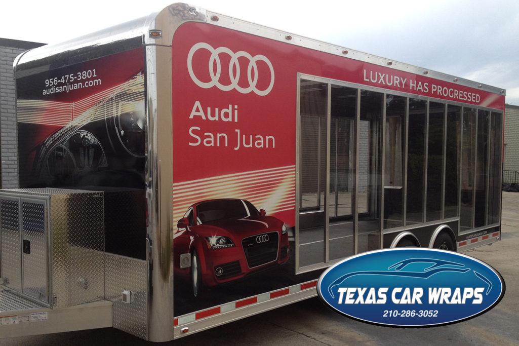 Audi San Juan Custom Trailer Wrap