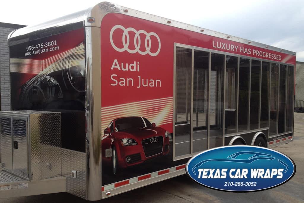 Audi San Juan Custom Trailer Wrap
