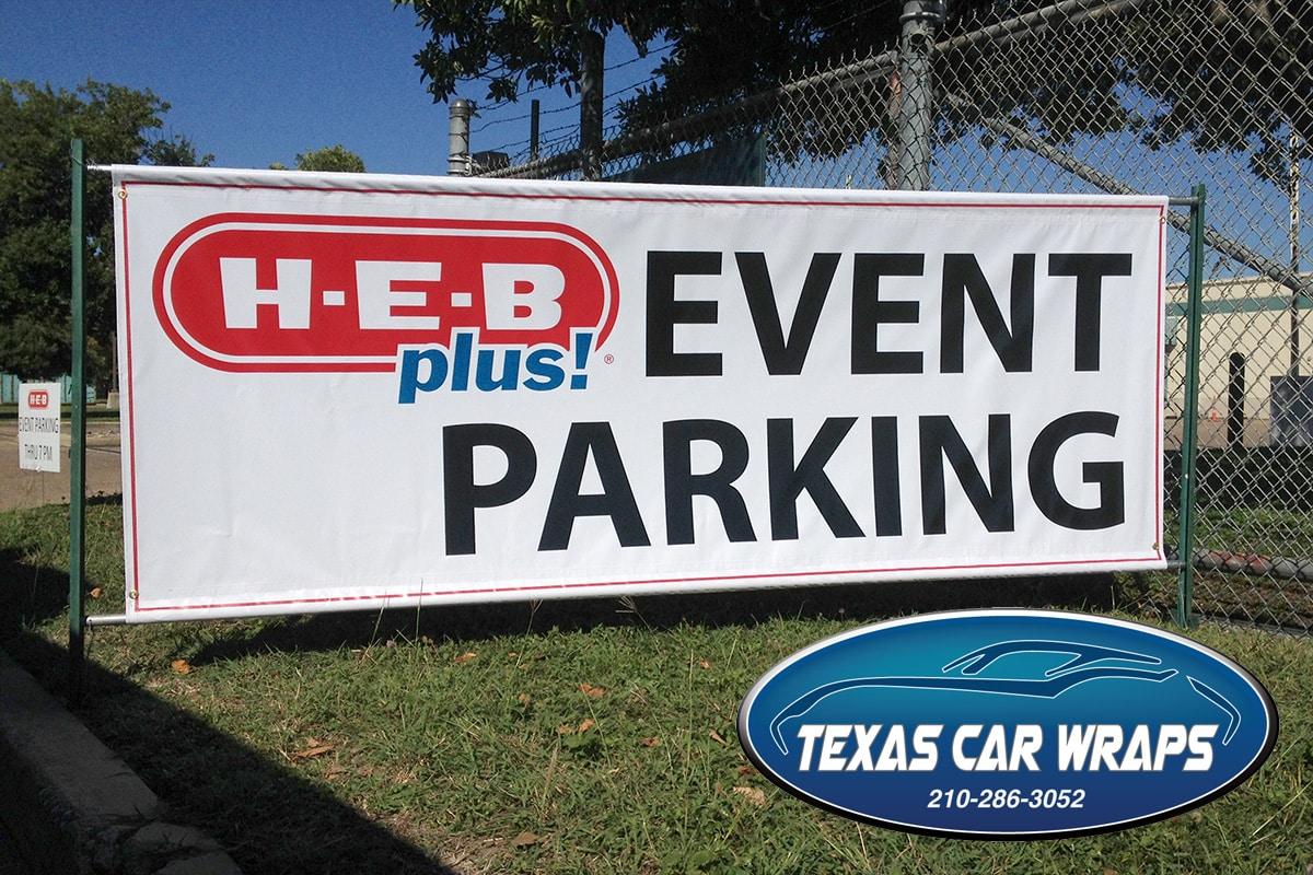 Custom Banner, San Antonio, TX