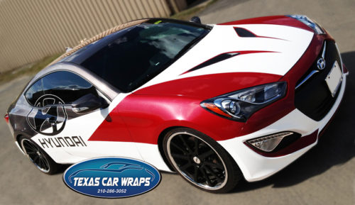 Carbon Fiber & Metallic Vehicle Wrap – San Antonio Vinyl Graphics