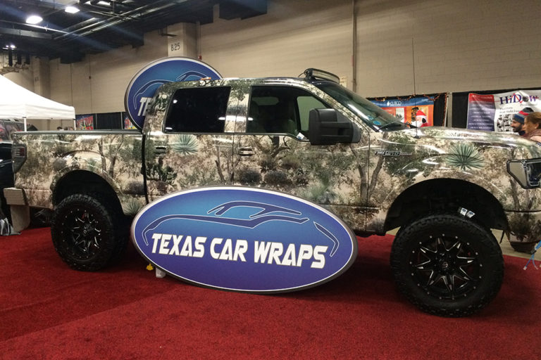 F150 Camo Wrap, Texas Car Wraps