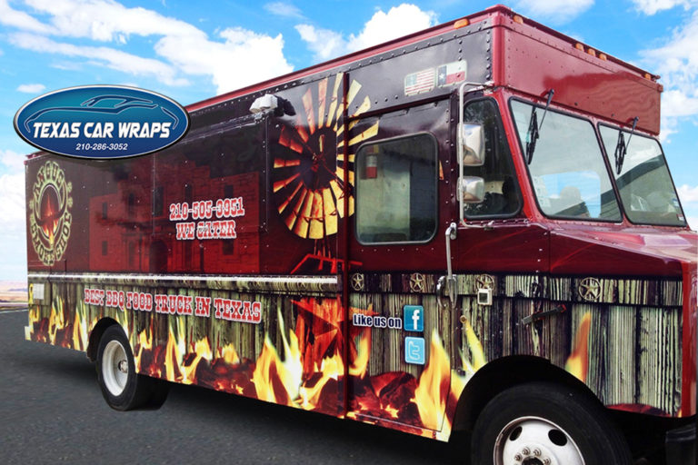 Food Truck Wrap, Texas Car Wraps