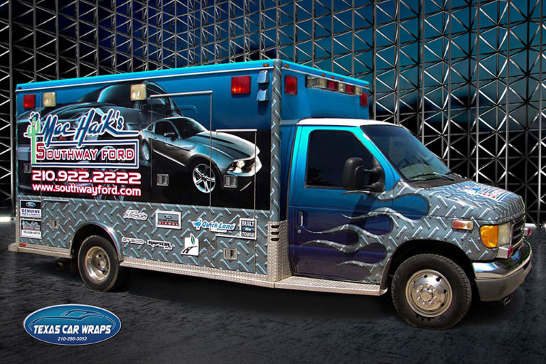 Mac Haik Commercial Wrap, Texas Car Wraps