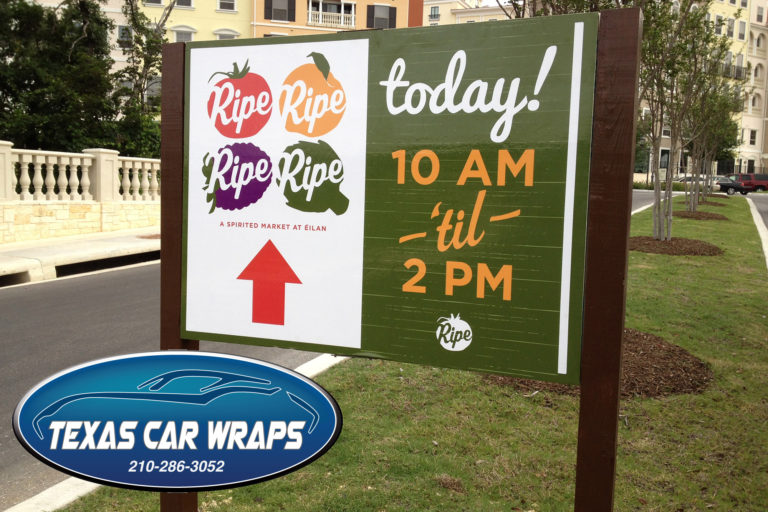Ripe Sign, San Antonio, TX