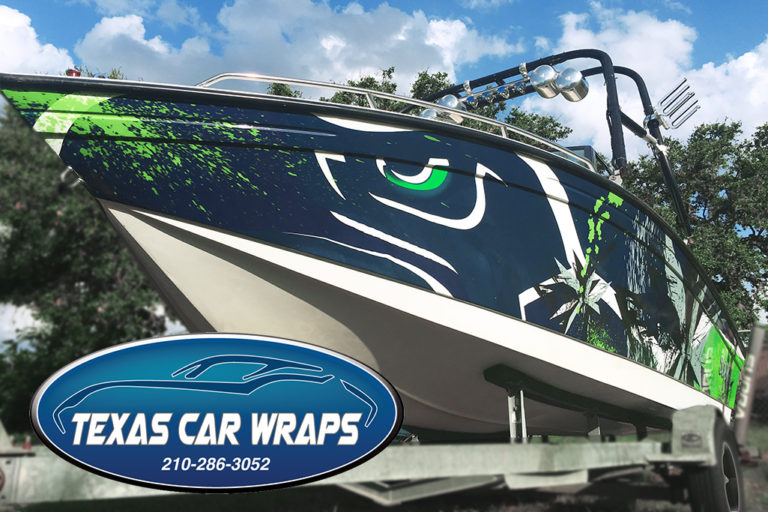 Ski Boat Wrap, Texas Car Wraps