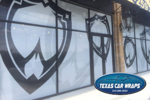 Custom Window Graphics – San Antonio Vinyl Graphics