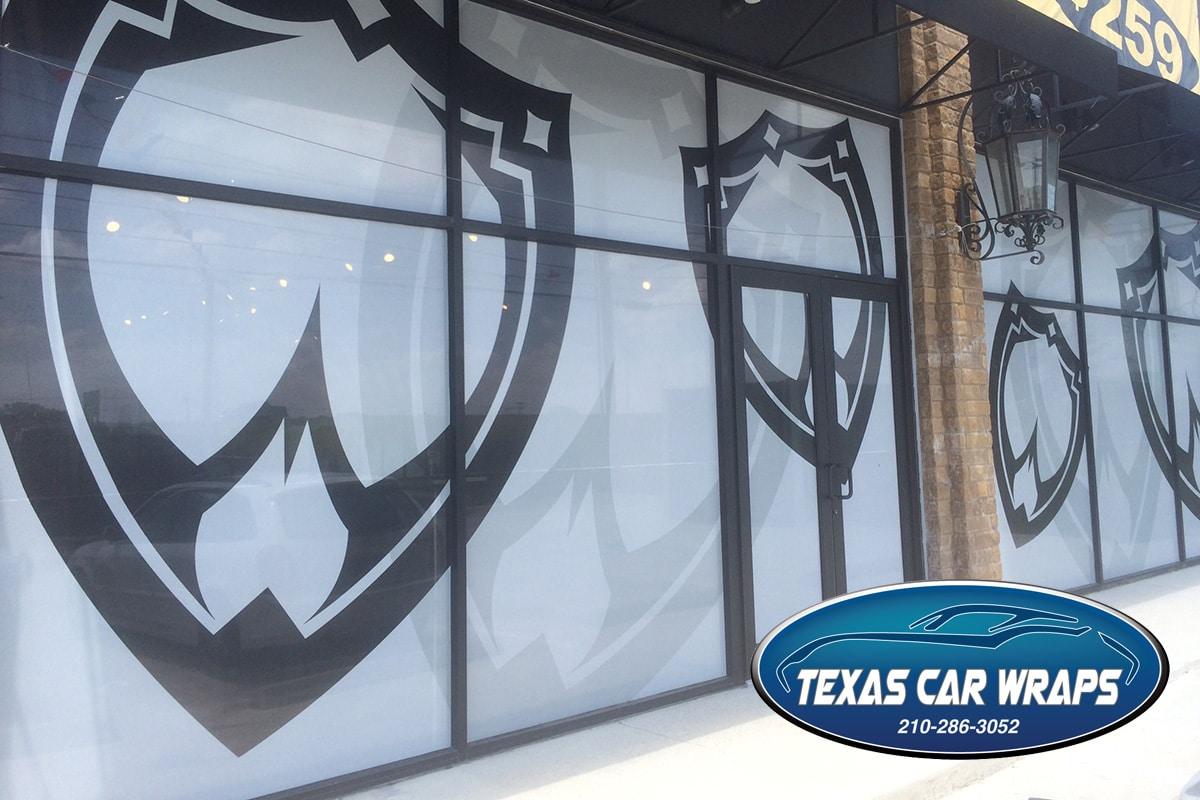Custom Window Graphics – San Antonio Vinyl Graphics