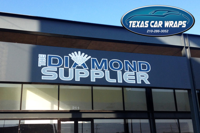 The Diamond Supplier Sign