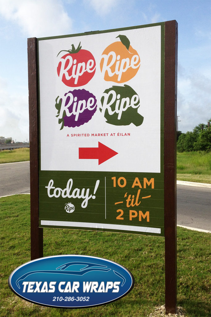 Ripe Market Sign